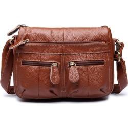 Costbuys  Designer Women Messenger Bags Crossbody Soft Genuine Leather Shoulder Bag High Quality Fashion Women Bags Handbags - b