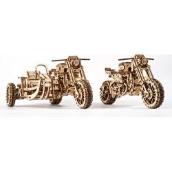 Motorcycle Scrambler UGR-10 w Sidecar