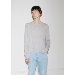 6397 Contrast Cashmere Crewneck Sweater Grey / Navy Size: X-Small found on MODAPINS from la garconne for USD $445.00