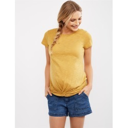Side Panel Pork Chop Pockets Maternity Shorts found on Bargain Bro Philippines from motherhood for $19.97