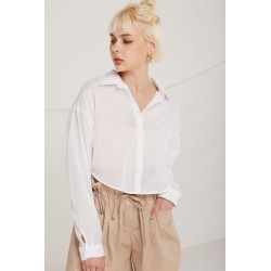 MILA CROP SHIRT found on Bargain Bro India from jae. co., ltd for $54.90