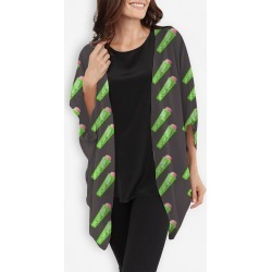 Cocoon Wrap - Ice Freeze Grey Pattern in Green by Violetheavensky Original Artist found on Bargain Bro Philippines from SHOPVIDA for $125.00