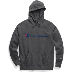 Champion Womens Powerblend� Fleece Pullover Hoodie, Script Logo W0934G Y07418 found on Bargain Bro Philippines from Freshpair for $32.00