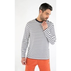 Armor Lux Héritage Long sleeve breton striped shirt - Men's found on MODAPINS from The Last Hunt for USD $53.16