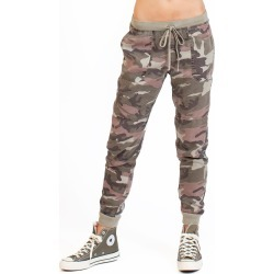 Hard Tail Forever Burgundy Camo Slim Jogger Pants - Camper - M found on MODAPINS from hardtailforever.com for USD $146.00