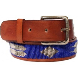 Feather Belt Dark Blue - Dark Blue / 32 found on Bargain Bro UK from ASPIGA