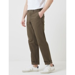 Norse Projects Aros Heavy Chino (Regular) - Ivy Green found on MODAPINS from URBAN EXCESS LTD: UrbanExcess.com / Article-London.com for USD $174.85