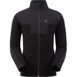 Spyder Men's Basin Fleece Jacket Size Small in Black