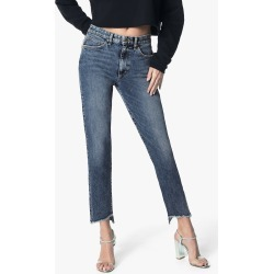 Joe's Jeans Women's The Smith Ankle Straight Jeans in Medium Indigo | Size 31 | Cotton/Spandex/Polyester