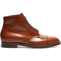 Alden Straight Tip Boot in Burnished Tan Calfskin found on MODAPINS from Todd Snyder for USD $581.00