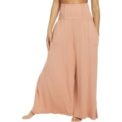 Free People Women's Movement Going Places Convertible Pants - Sand Medium Spandex