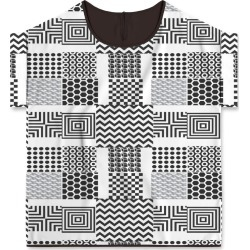 Modern Tee - Opt Illusion by VIDA Original Artist found on Bargain Bro India from SHOPVIDA for $65.00