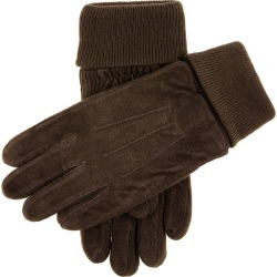 Dents Men's Fleece Lined Suede Gloves In Brown Size M found on Bargain Bro UK from Dents