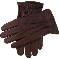 Dents Men's Classic Leather Gloves In Brown Size S found on Bargain Bro UK from Dents
