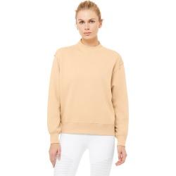 Alo Yoga Freestyle Sweatshirt - Putty - Size M - Performance Fabric
