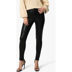 Joe's Jeans Women's The Charlie Jeans in Black   Size 30   Leather