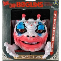 Official Boglins Hand Puppet Dark Lord Crazy Clown (Glow In The Dark) found on Bargain Bro UK from yellow bulldog