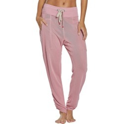 Free People Women's Movement Ready Go Pants - Dark Pink Small Spandex