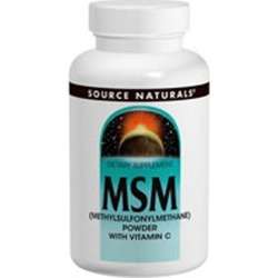 MSM with Vitamin C 8 oz by Source Naturals found on Bargain Bro India from Herbspro - Dynamic for $23.50
