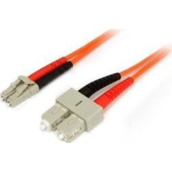 Startech Fiber Optic Cable Multimode Duplex 50/125 Lszh Lc/Sc 5M