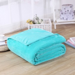 Costbuys  Blanket Solid Blue Color Soft Quality Sofa Knee Cover Kids Baby Shawl Plaid Summer Quilt Warm Blankets - Blue / 70X100 found on Bargain Bro India from cost buys for $82.99