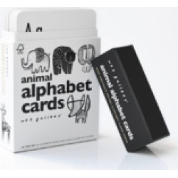Animal Alphabet Cards found on Bargain Bro India from Shoptiques for $18.95