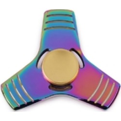 Holographic Anti Stress Spinner