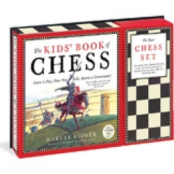 The Kid's Book of Chess and Chess Set found on Bargain Bro India from Shoptiques for $19.95