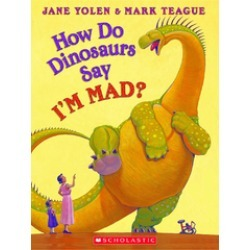 How Do Dinosaurs Say I'm Mad Hardcover Book found on Bargain Bro India from Shoptiques for $16.99