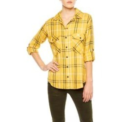 Mustard Plaid Shirt found on MODAPINS from Shoptiques for USD $109.00