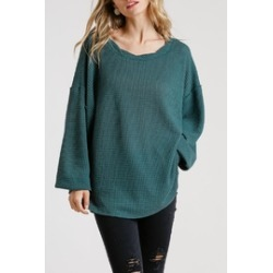 Nola Waffle-Knit Top found on MODAPINS from Shoptiques for USD $38.00