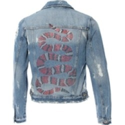 Denim Snake Jacket found on MODAPINS from Shoptiques for USD $240.00
