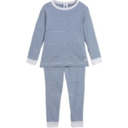 Petit Bateau Boys Pajamas Milleraies striped knit
