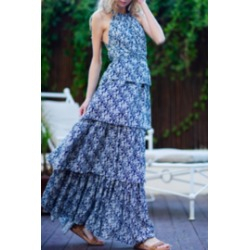 Blue Sky Maxi found on Bargain Bro from Shoptiques for USD $26.60
