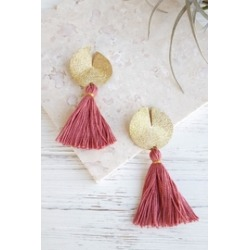 Disc-N-Tassel Earrings found on Bargain Bro India from Shoptiques for $42.00