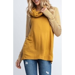 Mustard Stripe Sweater found on MODAPINS from Shoptiques for USD $33.00