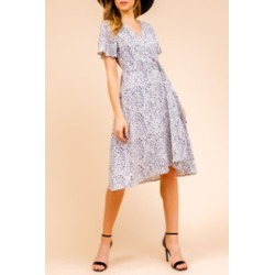 Ink Dot Wrap Dress found on MODAPINS from Shoptiques for USD $63.00