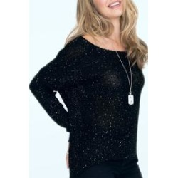 Black Shimmer Sweater found on Bargain Bro from Shoptiques for USD $102.60