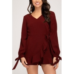Wrap Me Up Romper