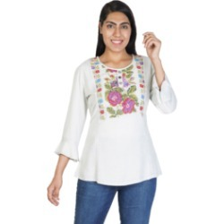 Natalie Embroidered Peasant Top found on Bargain Bro from Shoptiques for USD $49.40