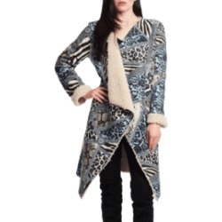 Blue Sherpa Lined Jacket