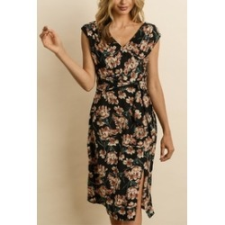 Floral Midi Dress found on Bargain Bro India from Shoptiques for $57.00