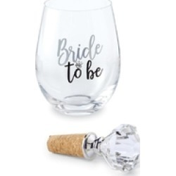 Bride Wine Glass found on Bargain Bro India from Shoptiques for $22.50