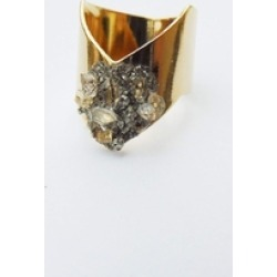 Herkimer Diamond Ring found on Bargain Bro India from Shoptiques for $56.00