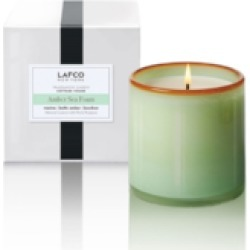 """AMBER SEAFOAM """"COTTAGE HOUSE"""" CANDLE"""