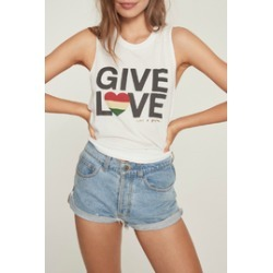 Give Love Muscle Tank