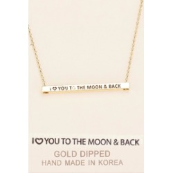 Inspirational Moon Necklace found on Bargain Bro India from Shoptiques for $25.00