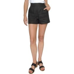 Black Linen Shorts found on Bargain Bro India from Shoptiques for $52.00