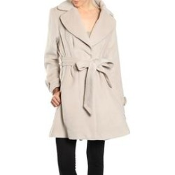 Cozy Belted Coat found on Bargain Bro Philippines from Shoptiques for $57.99