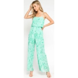 Printed Pleated Jumpsuit found on Bargain Bro from Shoptiques for USD $52.44